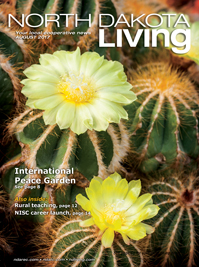 North Dakota Living magazine cover