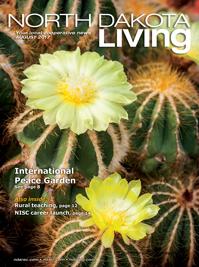 North Dakota Living magazine cover