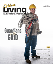 Oklahoma Living magazine cover