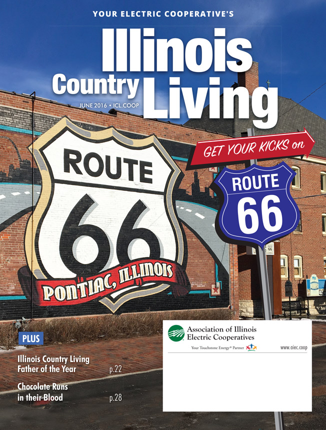 Illinois Country Living Magazine Cover