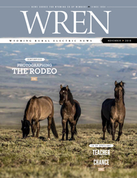 Wyoming WREN magazine cover