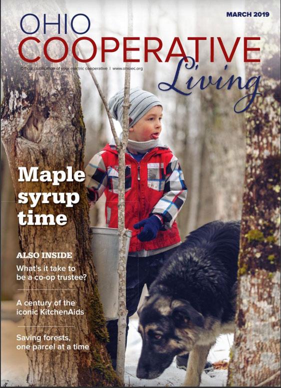 Ohio Cooperative Living magazine cover
