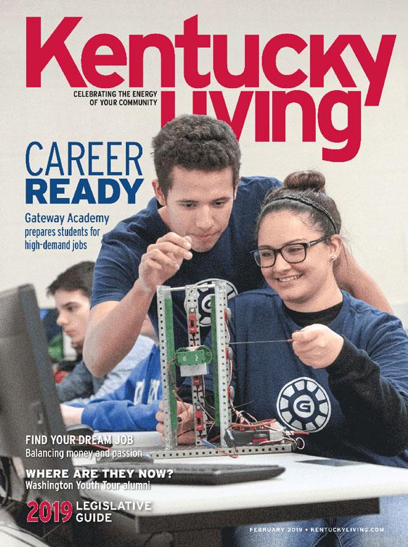 Kentucky Living magazine Cover