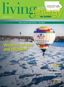 Living with Energy in Iowa magazine cover