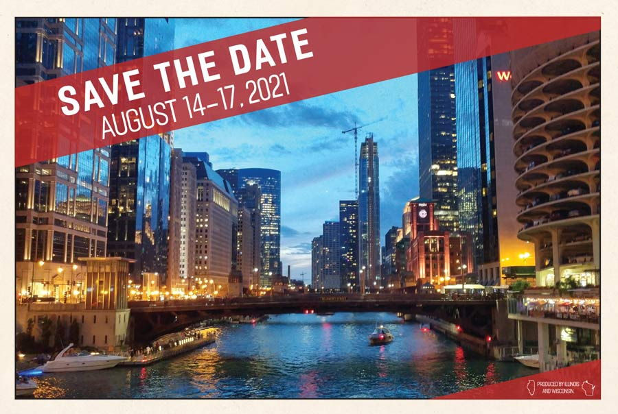 Save the Date: August 14-17, 2021